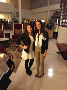 Mariana Garcia '19 and Genesis Perez-Melara '19, Co-Heads of Elections
